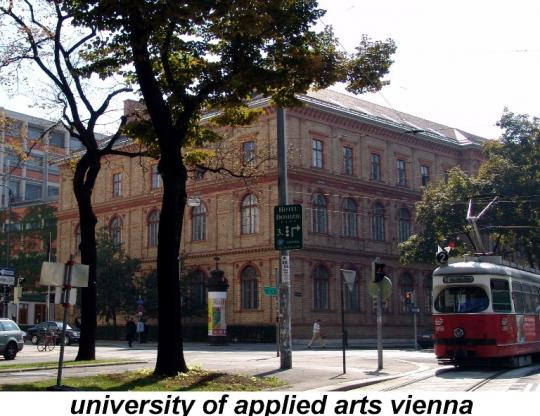 university of appleid arts vienna